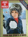 Jours de France Magazine [France] (4 March 1974)