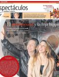 Adrian Suar, Florencia Bertotti on the cover of La Nacion (Argentina) - August 2010