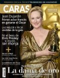 Meryl Streep on the cover of Caras (Peru) - March 2012