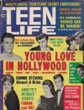 Connie Stevens on the cover of Teen Life (United States) - May 1963