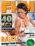 Andreea Raicu on the cover of Fhm (Romania) - April 2006