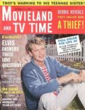Troy Donahue on the cover of Movieland (United States) - December 1960