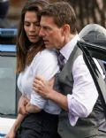 Hayley Atwell and Tom Cruise