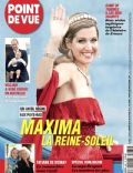 Princess Máxima of the Netherlands on the cover of Point De Vue (France) - April 2014