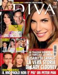 Elisabetta Canalis on the cover of Diva E Donna (Italy) - October 2009
