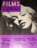 Marilyn Monroe on the cover of Films In Review (United States) - October 1962