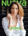 Laura Novoa on the cover of Nueva (Argentina) - February 2012