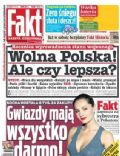 Malgorzata Socha on the cover of Fakt (Poland) - December 2013