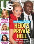 Heidi Klum, Seal on the cover of Us Weekly (United States) - February 2012