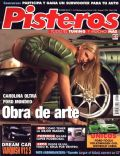 Carolina Oltra on the cover of Pisteros (Argentina) - December 2004