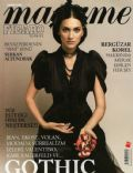 Bergüzar Korel on the cover of Madame Figaro (Turkey) - November 2008