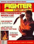 Jean-Claude Van Damme on the cover of Fighter (United States) - December 1988