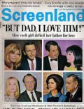 Nancy Sinatra on the cover of Screenland (United States) - December 1967