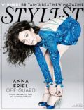 Anna Friel on the cover of Stylist Magazine (United Kingdom) - July 2011