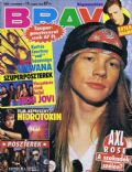 W. Axl Rose on the cover of Bravo (Hungary) - November 1992