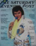 Elvis Presley on the cover of The Saturday Evening Post (United States) - July 1985