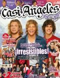 Gastón Dalmau, Nicolas Riera, Pablo Martinez on the cover of Casi Angeles (Argentina) - October 2010