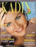 Sibel Can on the cover of Kadin Vizyon (Turkey) - February 2001