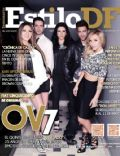 Ari Borovoy, Erika Zaba, Lidia Ávila, Mariana Ochoa, Oscar Schwebel, Ov7 on the cover of Estilo Df (Mexico) - March 2014