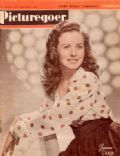 Jeanne Crain on the cover of Picturegoer (United Kingdom) - April 1946