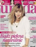 Katarzyna Bujakiewicz on the cover of Uroda (Poland) - March 2014