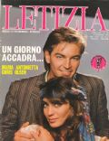 Sebastiano Somma on the cover of Letizia (Italy) - February 1985