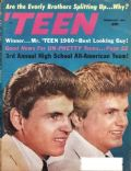 The Everly Brothers on the cover of Teen (United States) - February 1961