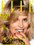 Eva Herzigova on the cover of Elle (Czech Republic) - April 2013