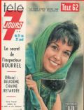 Télé 7 Jours Magazine [France] (21 April 1962)
