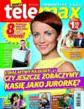 Katarzyna Zielinska on the cover of Tele Max (Poland) - November 2012