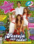 Brenda Asnicar, Griselda Siciliani, Juan Darthés, Laura Esquivel on the cover of Patito Feo (Argentina) - December 2007