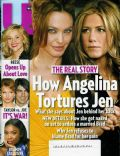 Angelina Jolie, Jennifer Aniston on the cover of Us Magazine (United States) - December 2008