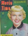 Doris Day on the cover of Movie Time (United States) - January 1952