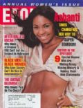 Ashanti on the cover of Ebony (United States) - March 2003