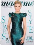Cate Blanchett on the cover of Madame Figaro (France) - June 2014
