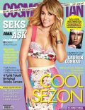 Lauren Conrad on the cover of Cosmopolitan (Turkey) - May 2014