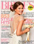 on the cover of Brides (United Kingdom) - August 2012