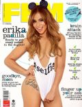 Erika Padilla on the cover of Fhm (Philippines) - June 2014