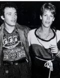 Adam Ant and Jamie Lee Curtis