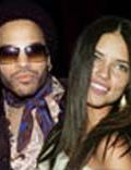 Adriana Lima and Lenny Kravitz