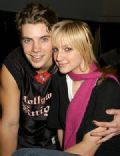 Ashlee Simpson and Josh Henderson