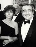 Barbara De Fina and Martin Scorsese