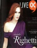 Amanda Righetti on the cover of Live (United States) - January 2010