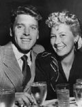 Burt Lancaster and Norma Anderson