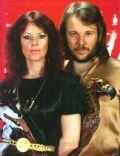 Benny Andersson and Anni-Frid Lyngstad