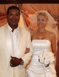 Christopher Judge and Gianna Patton