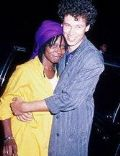 David Claessen and Whoopi Goldberg