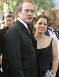 Dawn Laurel and Tommy Lee Jones