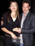Deborah Falconer and Robert Downey, Jr.