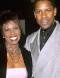 Denzel Washington and Pauletta Washington